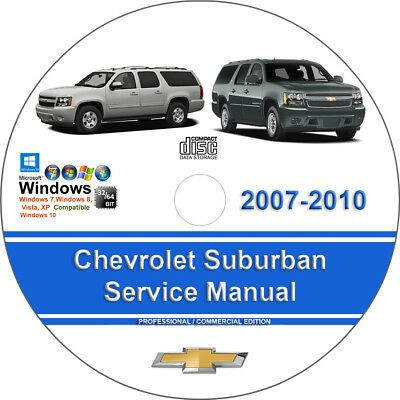 Advertisement Ebay Chevrolet Suburban 2007 2008 2009 2010 Factory