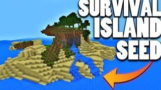 Minecraft Xbox One Survival Island Seed *AMAZING* *NOT CLICKBAIT
