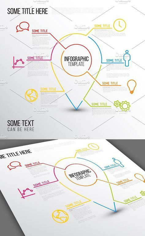 Infographic Template Location Point Presentation Templates