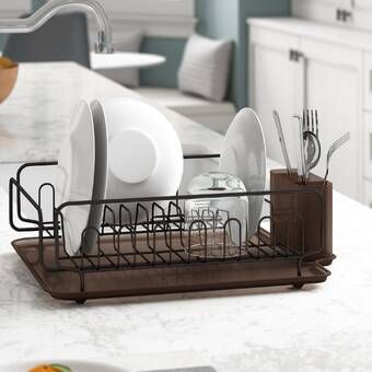 Countertop Dish Rack Dish Racks Kitchen Dish Drainers Dish