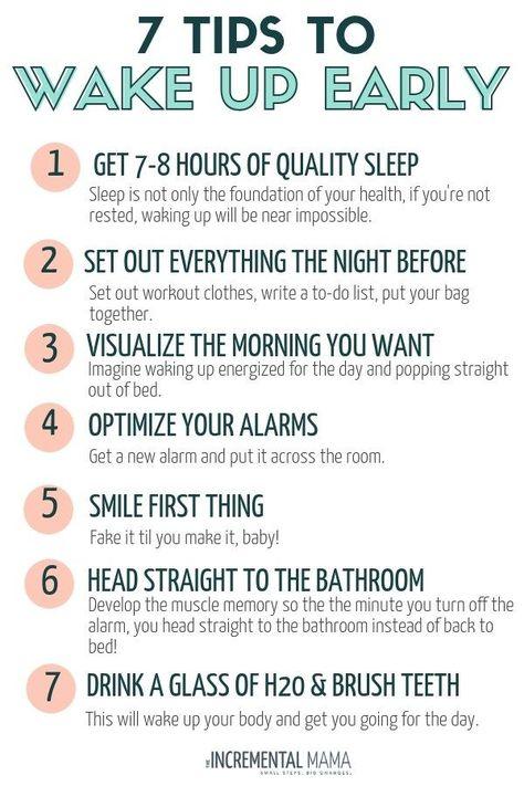 Wie man früh morgens aufwacht wenn man eine Nachteule ist
