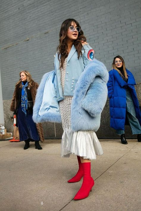 The Most Incredible Street Style Looks from New York Fashion Week - Cosmopolitan.
