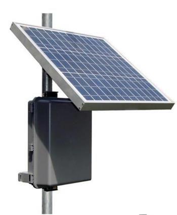 Remote Pro 8w Continuous Remote Power System Polycarbonate Encl 12v 36ah Battery 48v Poe 12v 30w Solar Panel Saker Att Kopa Sake