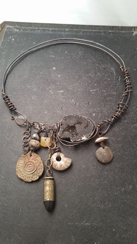Diy Jewelry : by Staci Louise Smith Last week we lost two members of our family . It was a very tough week. I was honored when I was asked to make a … -Read More – Tribal Jewelry, Bohemian Jewelry, Metal Jewelry, Beaded Jewelry, Handmade Jewelry, Jewelry Necklaces, Unique Jewelry, Gothic Jewelry, Charm Bracelets