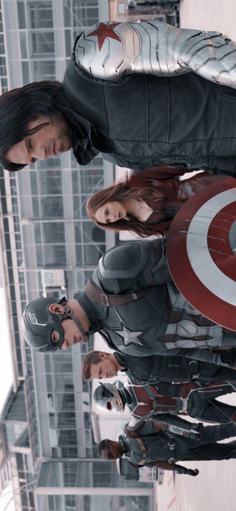 Captain America: Civil War Team Cap Wallpaper