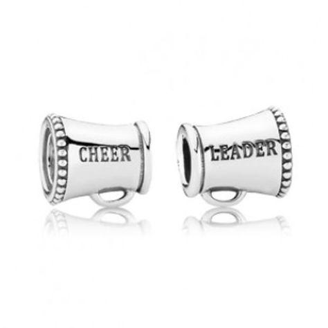 102398df1 PANDORA Cheerleader Charm, DANCE, Gymnastics, tumbling, 791125,  cheer_leader, encourage, cheering, support - Pandora Mall of America, MN