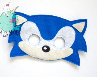 Diy Sonic Mask You Must Try This Sonic Costume Sonic Diy Mask