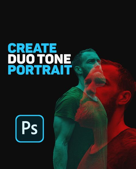 How To Make Duo Tone Portrait in Photoshop