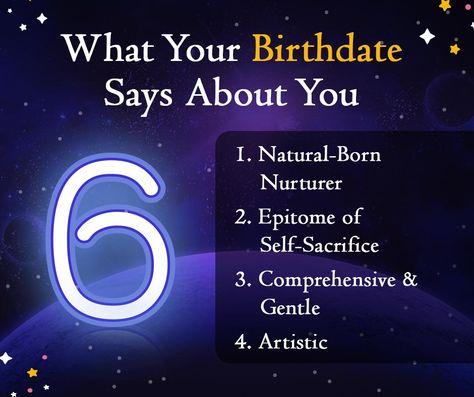 Personality Traits Of People Born On The 6th Of Every Month!  #tarot #tarotcards #tarotreading #tarotreader #tarotreadersofinstagram #witch #love #astrology #zodiacs #spirituality #spiritual  #magic #meditation #taurus #gemini #cancer #leo #virgo #libra #scorpio #sagittarius #capricorn #aquarius #pisces #tarotspread #art #birthnumber6 #aries #tarotlife #numerology