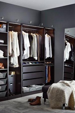Begehbare Schranknische Von Ikea Bild 13 Begehbarer Kleiderschrank Einrichten Ankleidezimmer Kleiderschrank