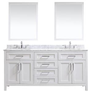 Ove Decors Ove Tahoe 72 In W X 21 In D Vanity In White With