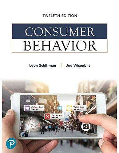 Consumer Behavior (12th Edition) (What's New in Marketing) - Default