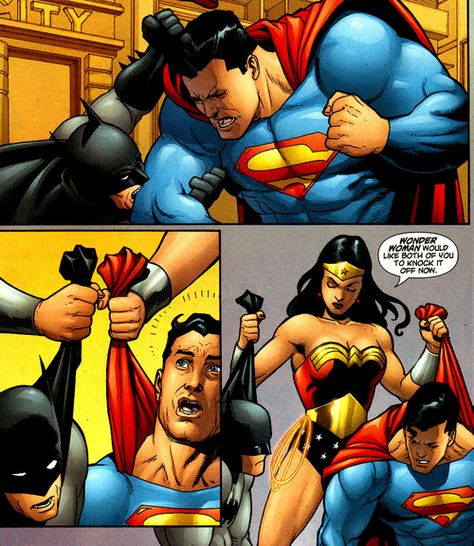 Plot of Batman vs. Superman, and Wonder Woman's role, finally released.