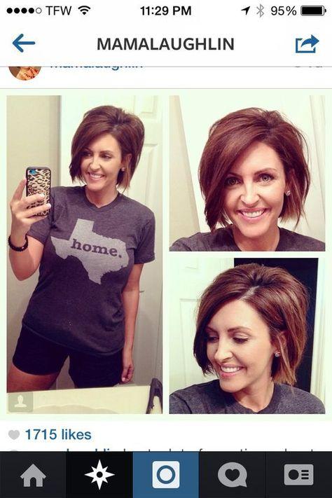 Cute Stacked Bob Haircuts