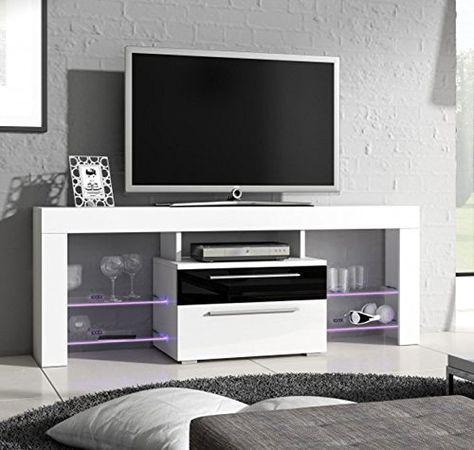 Mobile Tv Arredamento.Letti E Mobili Mobile Tv Modello Telmo In Colore Bianco