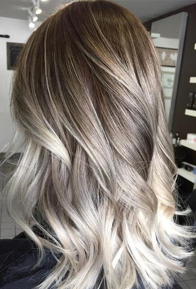 30 Blonde Balayage Hair Colors From Fall To Winter Ombre Hair