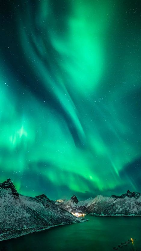 Aurora Nights Norway Iphone Wallpaper Northern Lights Photography Northern Lights Aurora Boreal