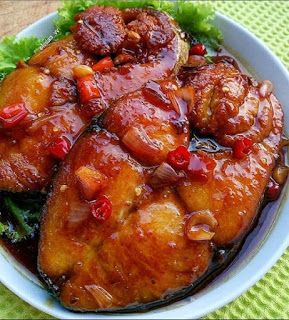 Tenggiri Goreng Saus Asam Gurih Di 2020 Resep Masakan Masakan Resep