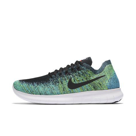 e520a0975408 Nike Free RN Flyknit 2017 Men s Running Shoe Size 11.5 (Blue) - Clearance  Sale