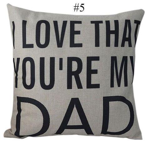 Throw Pillow Covers Man Happy Birthday