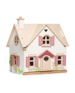 The Well Appointed House Luxuries For The Home The Well Appointed Home Children S Deluxe White And Blue D Wooden Dollhouse Wood Roof Wooden Dolls