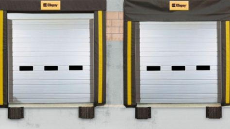 Sectional Ribbed Steel Commercial Doors Overhead Door Commercial Garage Doors Commercial