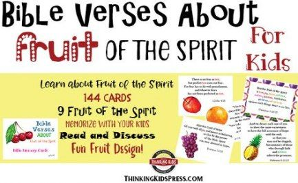 Teaching Children About Jesus Holy Spirit 39 Best Ideas Fruit Of The Spirit How To Memorize Things Verses For Cards