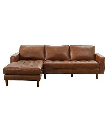 Abbyson Living George Leather Sectional