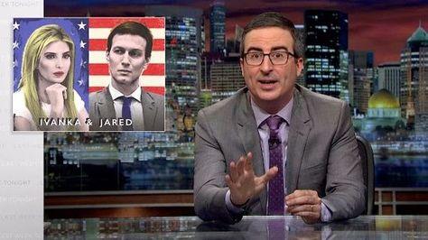 John Oliver Rips Into Ivanka Trump And Jared Kushner In Epic 20