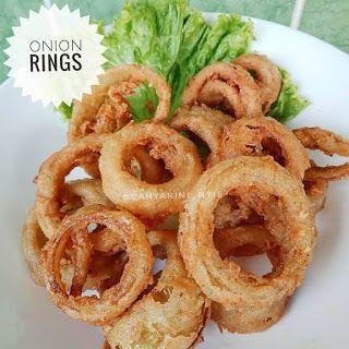 Resep Onion Rings By Cahyarini Resep Masakan Indonesia Makanan Resep Masakan