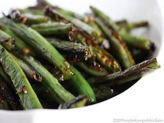 The MOST delicious green beans.