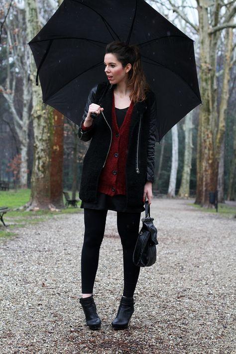 #fashion #fashionista Irene Irene's Closet - Fashion blogger outfit e streetstyle: Un outfit lowcost sotto lo pioggia