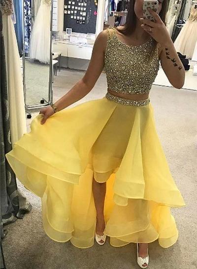 30++ Yellow hi low dress ideas in 2021