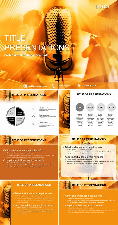 Music Production Keynote Templates Powerpoint Templates Keynote Template Keynote