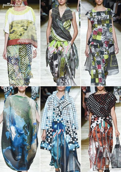 Paris Catwalk Print & Pattern Highlights - Spring/Summer 2018 Ready-to-Wear  #catwalk #highlights #paris #pattern #Print #ReadytoWear #Spring #SpringSummer #Summer