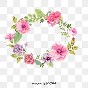 Watercolor Wreath Png Images Vector And Psd Files Free Download On Pngtree Wreath Watercolor Floral Watercolor Watercolor