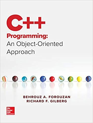 C Programming An Object Oriented Approach 1st Edition By Behrouz A Forouzan C Programming C Programming Book College Textbook