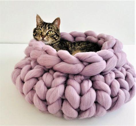Merino Wool Pet Bed