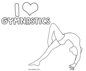 Free Printable Gymnastics Coloring Pages For Kids Cool2bkids In 2020 Sports Coloring Pages Coloring Pages Coloring Pages For Kids