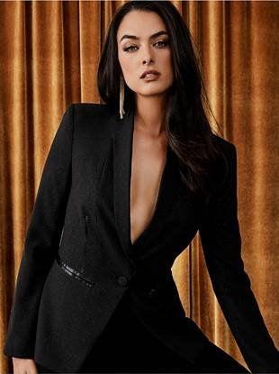 alta moda presa arriva nuovo Layfa Tailored Blazer | GUESS by Marciano | Tailored blazer ...