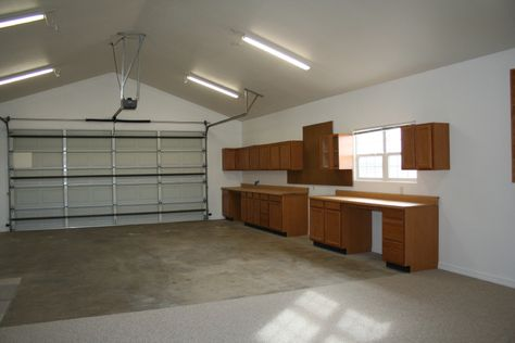 Using Old Kitchen Cabinets In The Garage Is Alwasy A Good Idea Kingman Az Homes Kitchen Cabinets In Garage Corner Storage Shelves Old Kitchen Cabinets