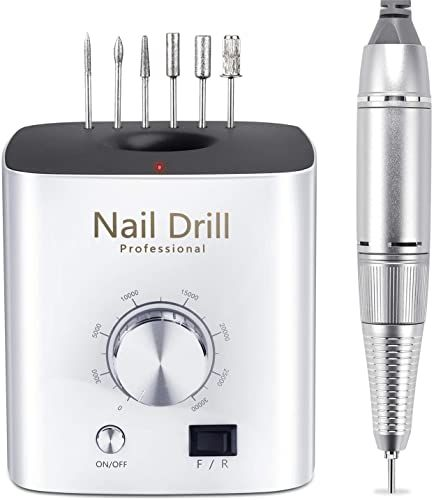 Best Seller Nail Drills Acrylic Nail Professional Electric Nail Drill Ejiubas 30000rpm Portable Electric Efile Drill Shaping Buffing Removing Acrylic Nail In 2020 Remove Acrylic Nails Nail Drill Nail Drills