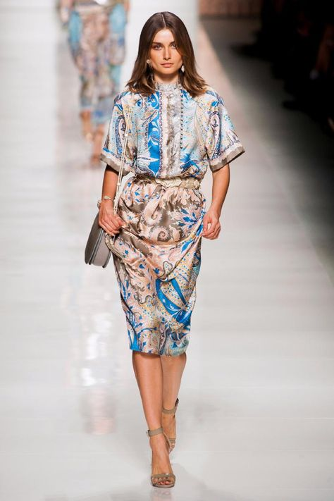 Etro, Spring/Summer 2014, Milan Fashion Week.