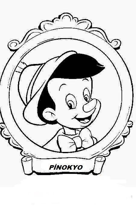 Sedef Adli Kullanicinin Pinokyo Panosundaki Pin Disney Cizimleri Boyama Sayfalari Kelebekler