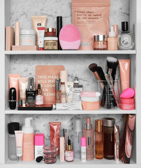 """Go-To on Instagram: """"May your skin care collection always be this epic, @designbyaikonik. (And may WE borrow it all, forever, please and thank you.)"""""""