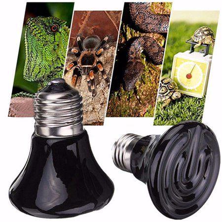 110v 75w Reptile Heat Lamp Bulb Reptile Pet Brooder Infrared