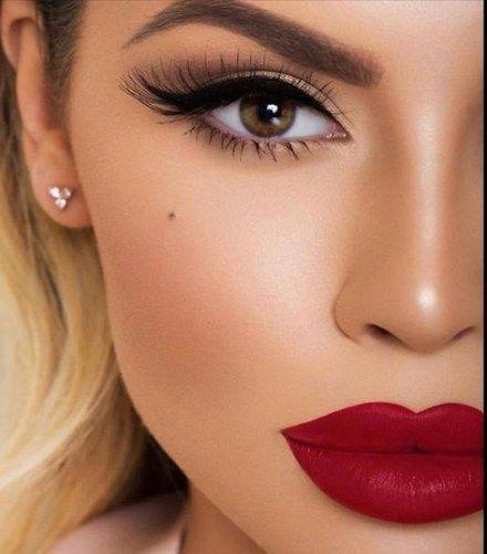42+ Rote lippen make up Sammlung