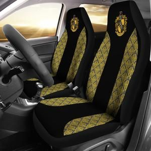 Awe Inspiring Hufflepuff Car Seat Cover 70 Off In 2019 Car Seats Car Forskolin Free Trial Chair Design Images Forskolin Free Trialorg