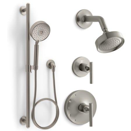 Kohler Kss Purist 4 Rths Shower Systems Shower Arm Shower Heads