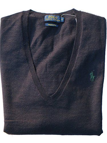 finest selection 01f72 5a304 Ralph Lauren Damen Pullover Eloise V-Neck Dunkelblau Blau ...